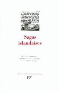 Sagas islandaises - Régis Boyer |