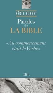 Régis Burnet - Paroles de la Bible.