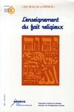 Régis Debray et Claude Langlois - L'enseignement du fait religieux.