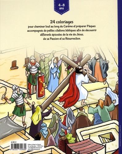 Mon cahier de coloriage Carême et Pâques