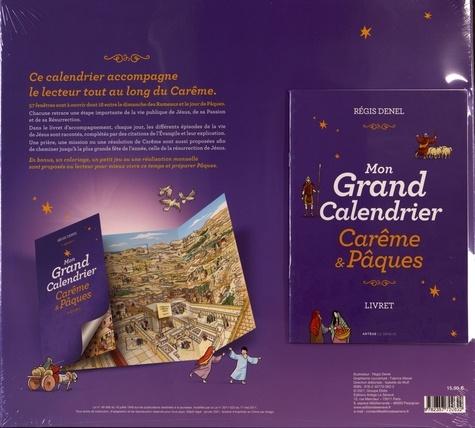 Mon grand calendrier Carême & Pâques. Avec 1 livret