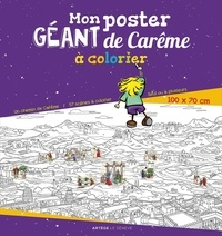 Régis Denel - Mon poster géant de Carême à colorier.