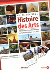 Régis Haas et Vianney Carvalho - Guide pratique Histoire des arts - 100 oeuvres incontournables de la Préhistoire à nos jours. 1 CD audio