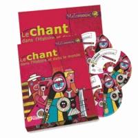 Régis Haas - Le chant dans l'Histoire et le monde - Coffret 3 CD, livre et livret de l'élève. 3 CD audio