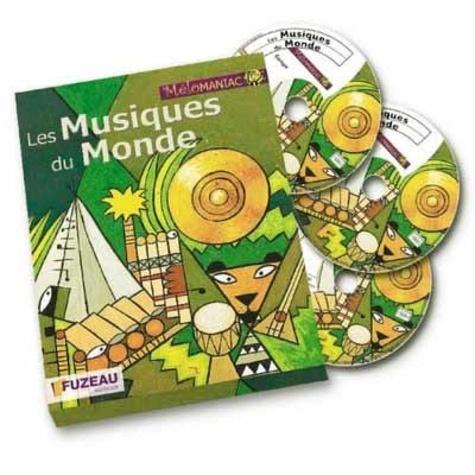 Régis Haas - Les musiques du monde. 3 CD audio
