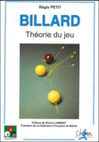 Régis Petit - Billard - Théorie du jeu.