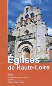Régis Thomas et Martin de Framond - Eglises de Haute-Loire.