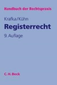 Registerrecht.
