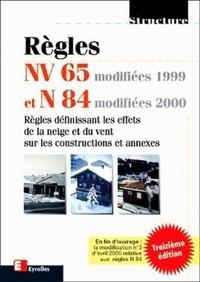 Cjtaboo.be Règles NV 65 modifiées 99 et N 84 modifiées 95. Règles définissant les effets de la neige et du vent sur les constructions et annexes, 13ème édition Image