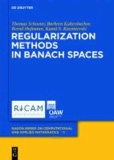 Regularization Methods in Banach Spaces.