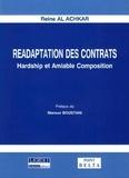 Reine Al Achkar - Réadaptation des contrats - Hardship et amiable composition.