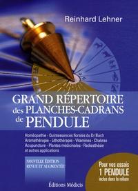 Reinhard Lehner - Grand répertoire des planches-cadrans de pendules.