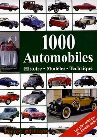 Reinhard Lintelmann - 1000 Automobiles - Histoire, modèles, technique.