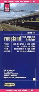 Reise Know-How - Rusie de l'Oural au lac Baïkal - 1/2 000 000.