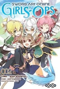 Ebooks ebooks gratuits à télécharger Sword Art Online Girls' Ops Tome 2 par Reki Kawahara, Neko Nekobyou (Litterature Francaise) PDB FB2 MOBI 9782377171064