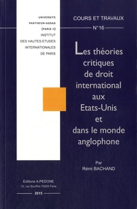 Deedr.fr Les théories critiques de droit international aux Etats-Unis et dans le monde anglophone Image