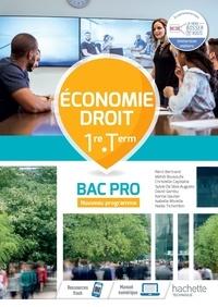 Rémi Bertrand et Mehdi Bousoufe - Economie Droit 1re Tle Bac Pro.