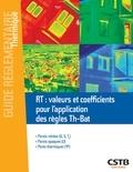 Rémi Bouchié et Benoît Busson - RT : valeurs et coefficients pour l'application des règles Th-Bat - Parois vitrées, parois opaques, ponts thermiques.