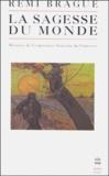Rémi Brague - La sagesse du monde - Histoire de l'expérience humaine de l'univers.