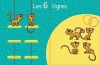 Rémi Brissiaud et André Ouzoulias - Albums à calculer 3, 4, 5, 6, 7 avec les animaux du cirque.