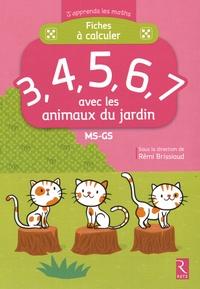 Fiches à calculer 3, 4, 5, 6, 7 avec les animaux du jardin MS-GS.pdf