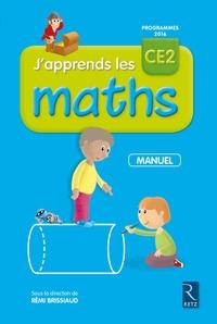 Rémi Brissiaud - J'apprends les Math CE2 - Manuel + cahier d'activité.