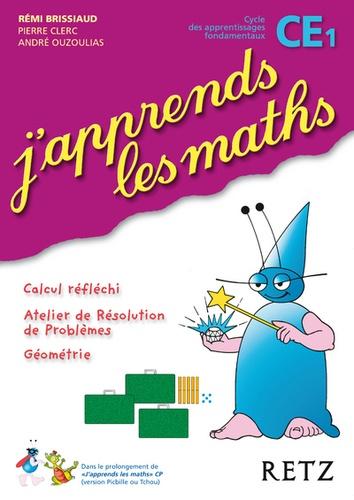 Rémi Brissiaud - J'apprends les maths CE1 Cycle 2.
