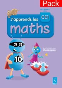Rémi Brissiaud - J'apprends les maths CE1 - Pack de 10.