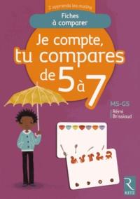 Corridashivernales.be Je compte, tu compares de 5 à 7 MS-GS - Fiches à comparer Image