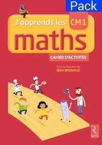 Rémi Brissiaud - Mathématiques CM1 J'apprends les maths - Pack de 6 cahiers d'activités.