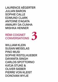 Rémi Coignet - Conversations - Tome 3.
