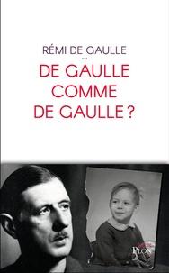 Histoiresdenlire.be De Gaulle comme de Gaulle ? Image