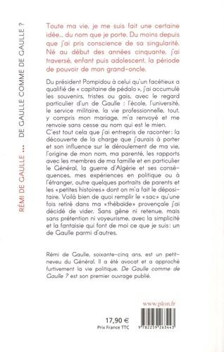 De Gaulle comme de Gaulle ?