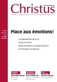 Rémi de Maindreville - Christus N° 261, janvier 2019 : Place aux émotions !.