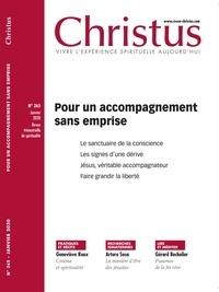 Rémi de Maindreville - Christus N°265, janvier 2020 : Pour un accompagnement sans emprise.