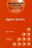 Rémi Goblot - Algèbre linéaire.