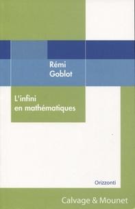 Rémi Goblot - L'infini en mathématiques.
