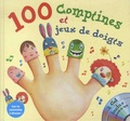 Rémi Guichard et Bruno Robert - 100 comptines et jeux de doigts. 2 CD audio