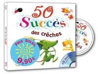 Rémi Guichard et Bruno Robert - 50 succès des crèches. 1 CD audio