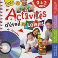 Rémi Guichard - Activités d'éveil et de loisirs - 0 à 2 ans. Volume 1. 1 CD audio