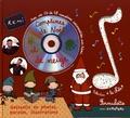Rémi Guichard et Annelore Parot - Comptines de Noël et de neige. 1 CD audio