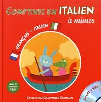Rémi Guichard - Comptines en italien à mimer. 1 CD audio MP3