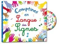 Rémi Guichard et Aliza M'Sika - Comptines en langue des signes. 1 DVD