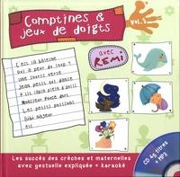 Rémi Guichard - Comptines et jeux de doigts - Tome 3. 1 CD audio