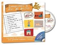 Rémi Guichard - Comptines et jeux de doigts - Tome 4. 1 CD audio