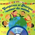 Rémi Guichard et Sandrine Lhomme - Comptines et musique autour du monde. 1 CD audio
