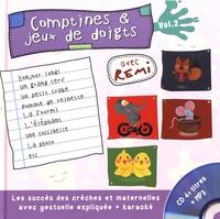 Rémi Guichard - Comptines & jeux de doigts - Volume 2. 1 CD audio MP3