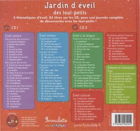 Jardin d'éveil des tout-petits  avec 2 CD audio