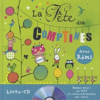 Rémi Guichard et Coralline Pottiez - La fête des comptines. 1 CD audio MP3
