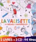 Rémi Guichard - La valisette des crêches et maternelles - 2 volumes : Danse avec Lilou et Babou ; Le coffret des crèches et maternelles. 3 CD audio